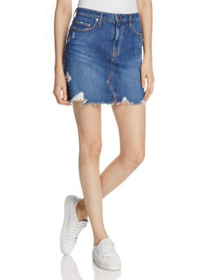 Piper #Denim_Skirt