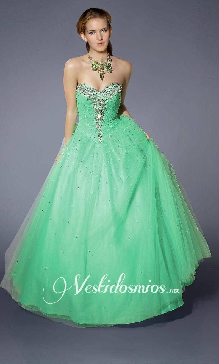 Strapless Vestido de XV