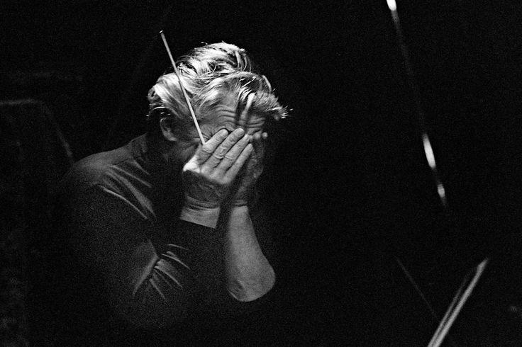 Herbert von Karajan © Robert Lebeck,