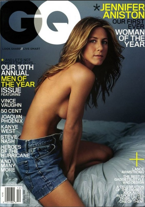 Jennifer Aniston's GQ cover. Gorgeous!