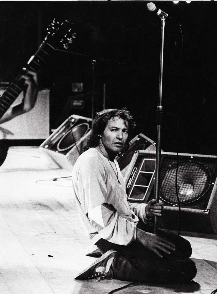 Vasco Rossi 1981 in uno dei suoi primi concerti Foto Patrizia Pulga
