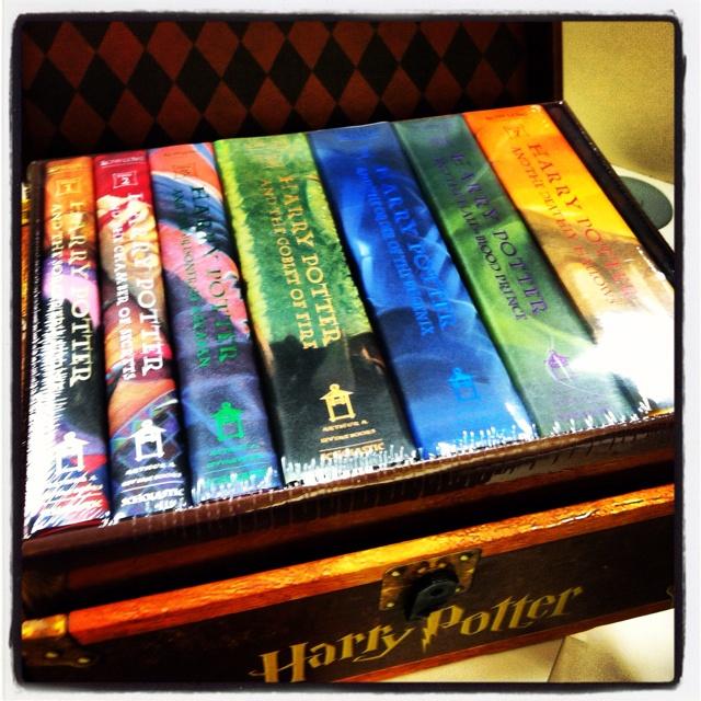 Harry Potter Book Chest ~ Pinterest the world s catalog of ideas