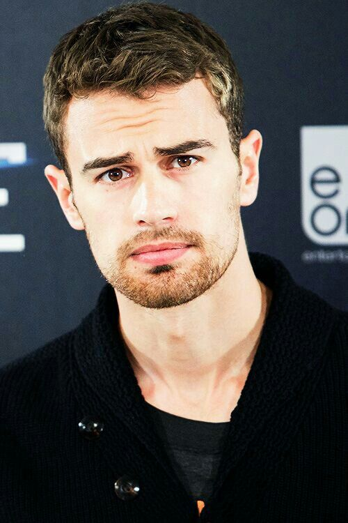 THEO JAMES I have a thing for guys whose eyebrows go up towards the nose…so SEXY (please follow minkshmink on pinterest)