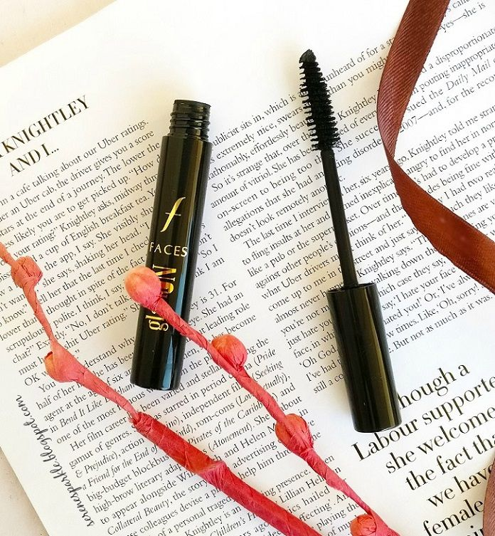 Faces Glam On Perfect Volume Mascara Review |Serene Sparkle