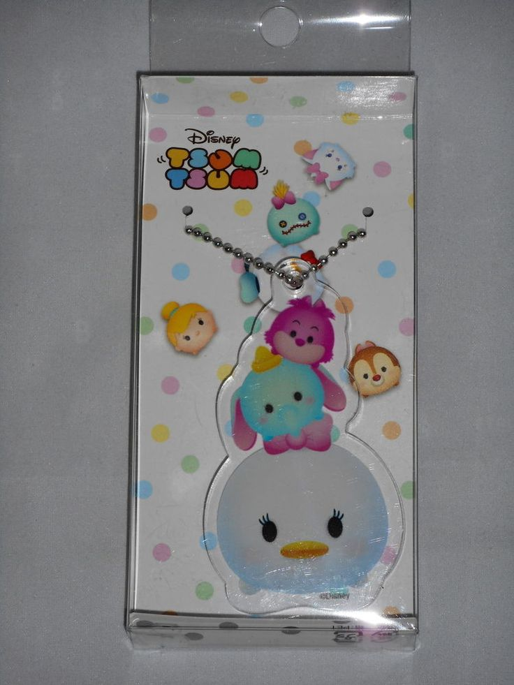 Disney Tsum Tsum Acrylic Key Chain (Daisy) Runa Japan