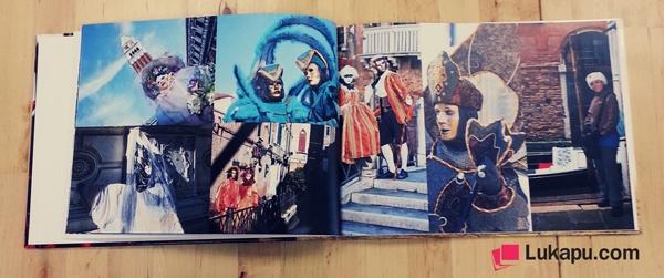 Sevgili Fatih Bey'in, 2013 Venedik Karnavalı'nın fotoğraflarından oluşan fotokitabını sizlere sunuyoruz. Lukapu kalitesiyle hazırladığımız ve Fatih Bey'in izini ile sizlerle paylaştığımız fotokitapta karnavala dair ilginç fotoğraflar göze çarpıyor. Fatih Bey'e, böyle ilginç ve görkemli bir karnavalı fotokitaplaştırdığı ve bizlere sunduğu için teşekkür ediyor ve sevgilerimizi yolluyoruz. Bu güzel fotokitap için sizlerin de yorum ve görüşlerini bekliyoruz :)