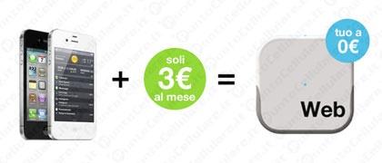 3 - al via l'offerta 'Internet a Casa' per navigare a soli 3 euro/mese