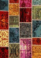 Ventures Patch Work Design Contemporary Rugs 21018-110