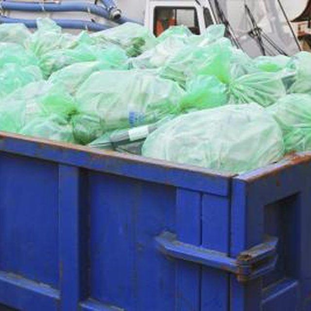 Dumpster diving became popular in 2008.