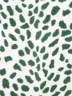 Robert Allen fabric Leopard Path in Billiard Green