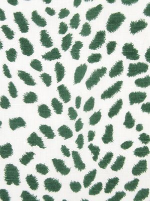 |Robert Allen Fabric| Leopard Path - Billiard Green - $49.99 #animal #print #interiors #decor