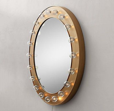 Best 25 round mirrors ideas on pinterest hallway mirror for Restoration hardware round mirror