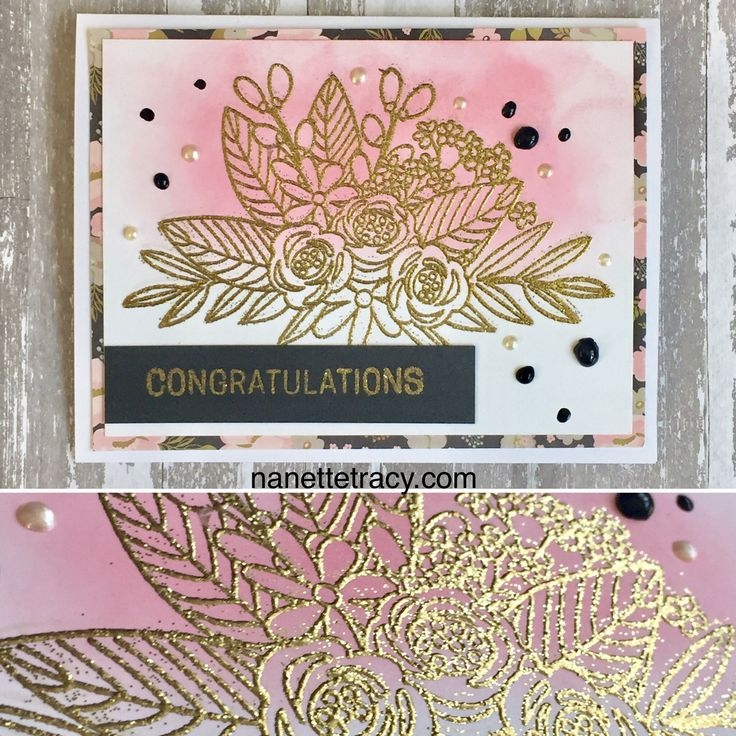Card made from Simon Says Stamp June 2017 Kit