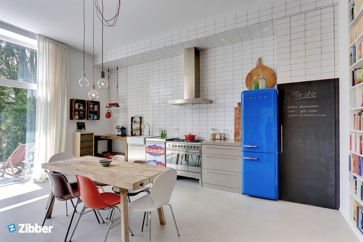 Inspiration kitchen with a great mix of furniture l Zibber