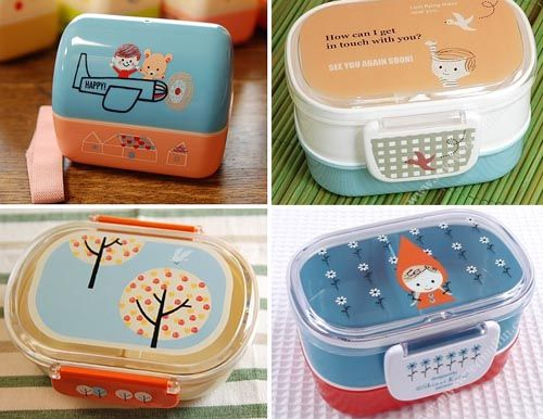 lunch boxes
