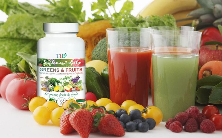 wypasiony Greens & Fruits TiB