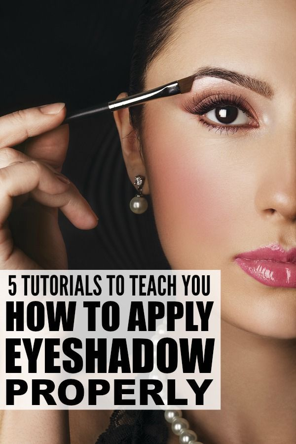 182 best makeup images on pinterest makeup makeup ideas and 5 tutorials to teach you how to apply eyeshadow properly ccuart Images