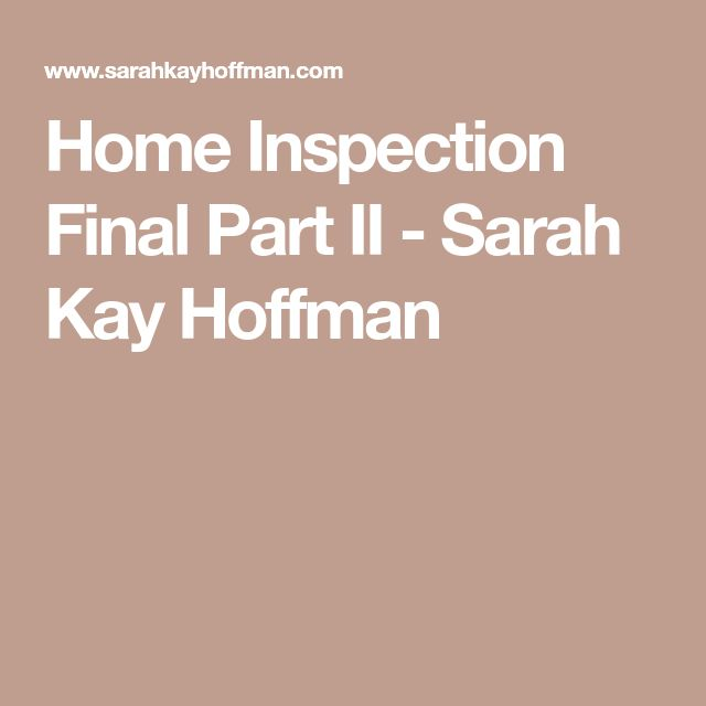 Best  Home Inspection Ideas On   House Inspection