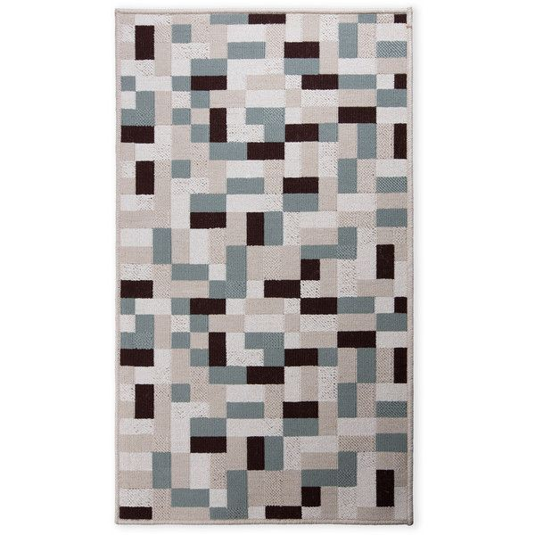 Elle Decor Grey Multi Lyncrest Area Rug ($20) ❤ liked on Polyvore featuring home, rugs, grey, machine washable rugs, machine washable area rugs, machine wash rugs, textured area rugs and grey rug