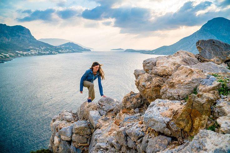 Scramble on. It's the weekend!!  @cheynelempe - Kalymnos Greece by mountainhardwearh #instagram #igwt #ingearwetrust