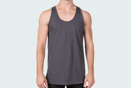 Mock-up your designs on this free American Apparel 2408 100% cotton tank template. Comes in every color!