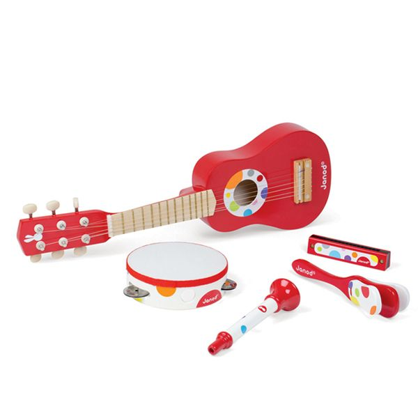 #limetreekids Janod Red Musical Set