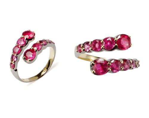 Os novíssimos aneis de rubi de Ara Vartanian são o nosso desejo do ...