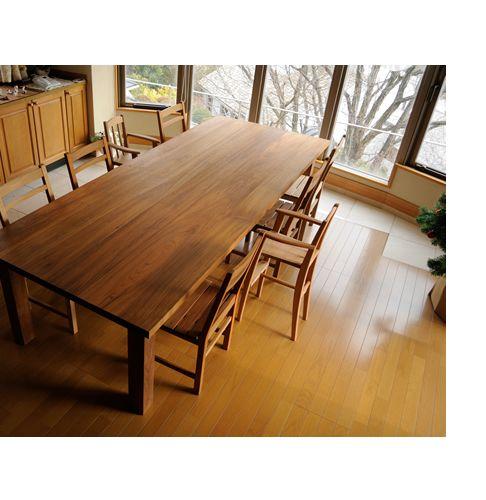 チーク超特大ダイニングテーブルtypeT W280cm / カグオカ
