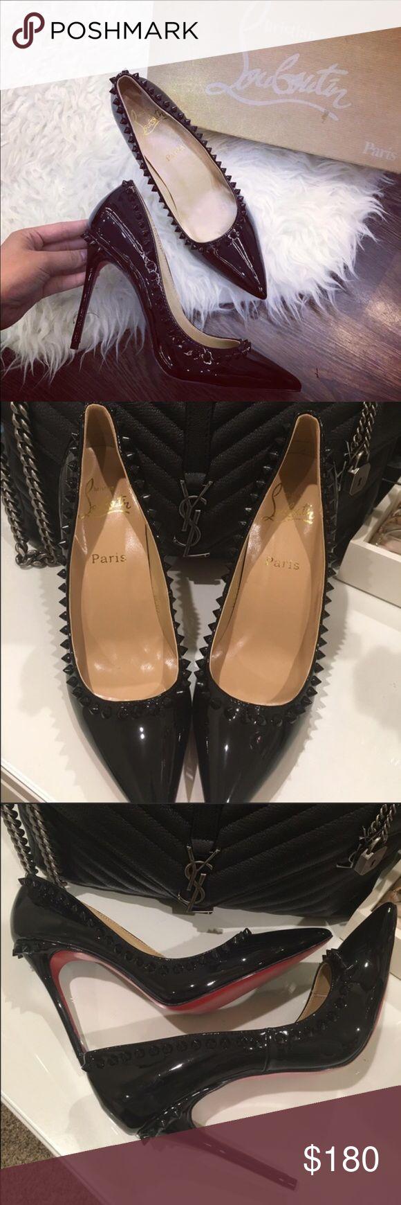 Christian Louboutin Black Shoes ❤️ New 💯 . No box and dustbag . Like Auth 1:1 Christian Louboutin Shoes Heels
