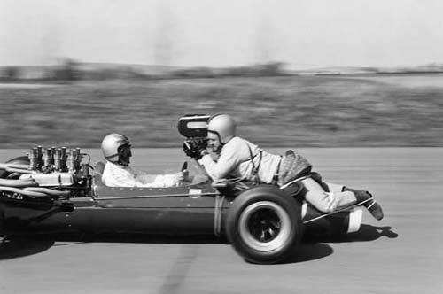 How you shot footage on the move before GoPro...