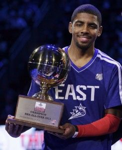 Kyrie Irving Steals Three-Point Contest at NBA's All-Star Weekend