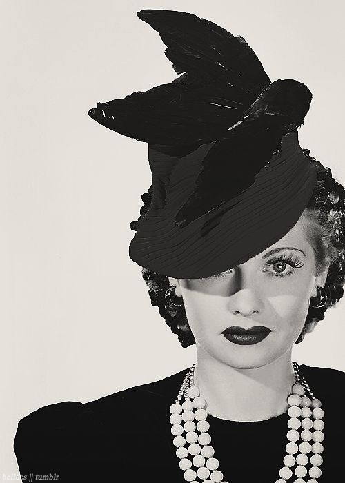 Lucille Ball. (in the best hat!)