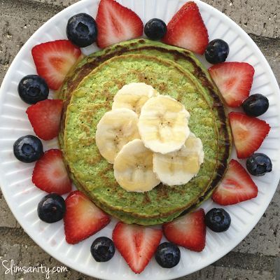 Healthy Spinach Pancakes