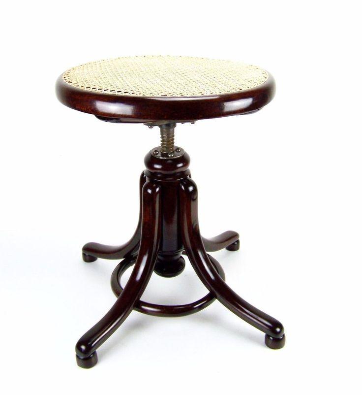 Klavierhocker / Piano stool THONET Nr.1 1881ca | eBay  sc 1 st  Pinterest & 13 best Piano Stools images on Pinterest | Piano stool Bench ... islam-shia.org