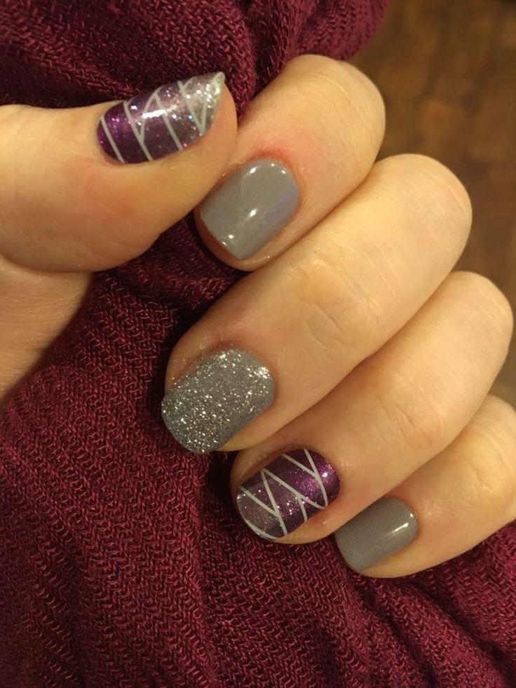 Pretty winter nails art design inspirations 65