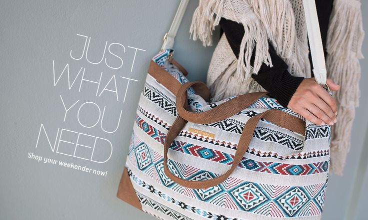 Shop now your weekender bags!