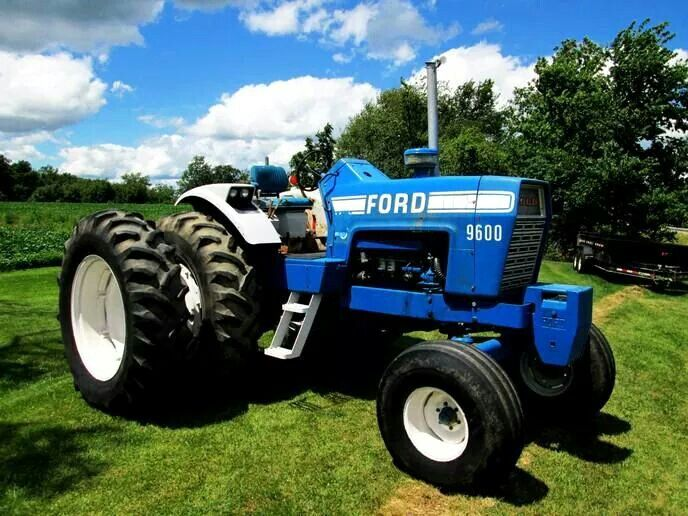 Ford 9600 Tractor : Ford tractors equipment pinterest