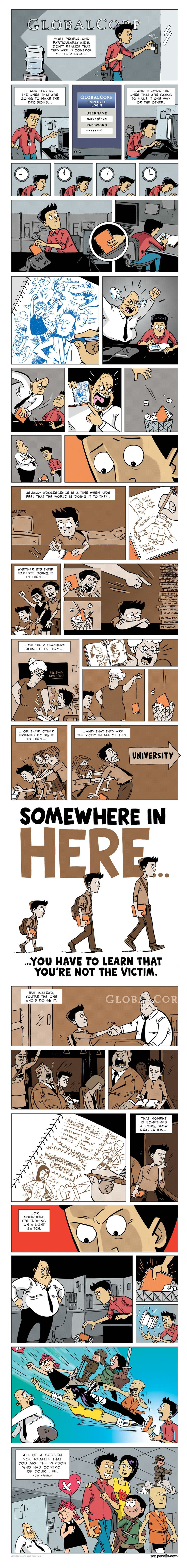 A Simple Truth In This Comic Will Change The Way You Look At Your Career & Life. I needed this