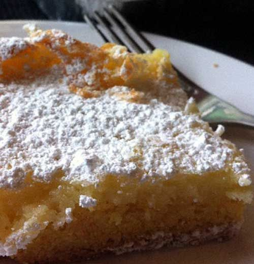 Recipe for Old Fashion St. Louis Gooey Butter Cake - The cake was first made by accident in the 1930s by a St. Louis-area German American baker who was trying to make regular cake batter but reversed the proportions of sugar and flour, hence the Gooey Butter Cake was born!!