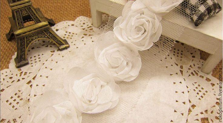 Купить Декоративная лента - лента, лента шифоновая, лента отделочная, шифоновая лента, декоративная лента