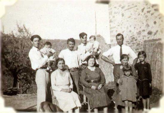 Ritratto di famiglia italiana, sec. XX