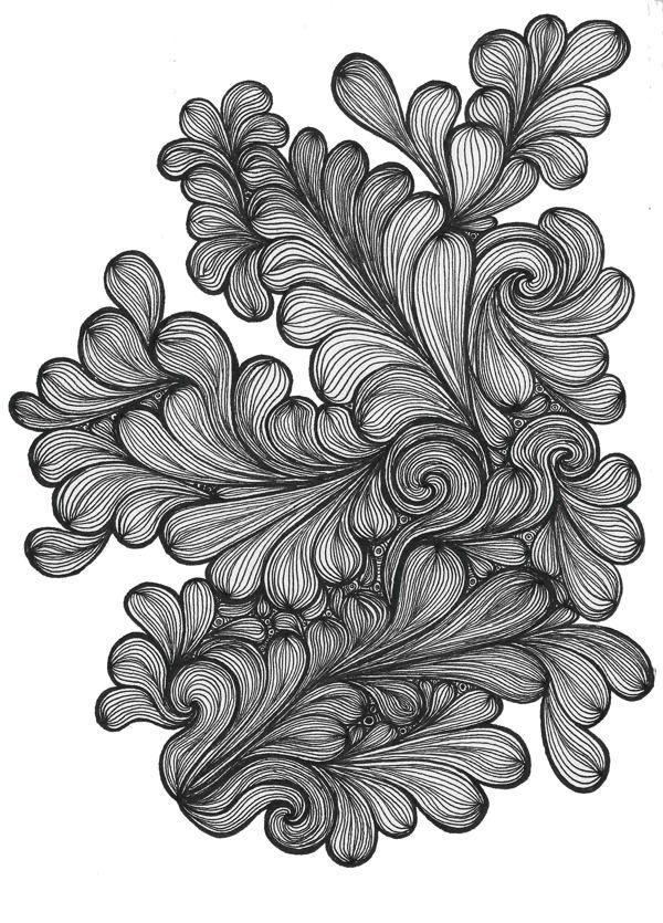 Illustration Typography by Lucia Paul (Lu Paul), via Behance