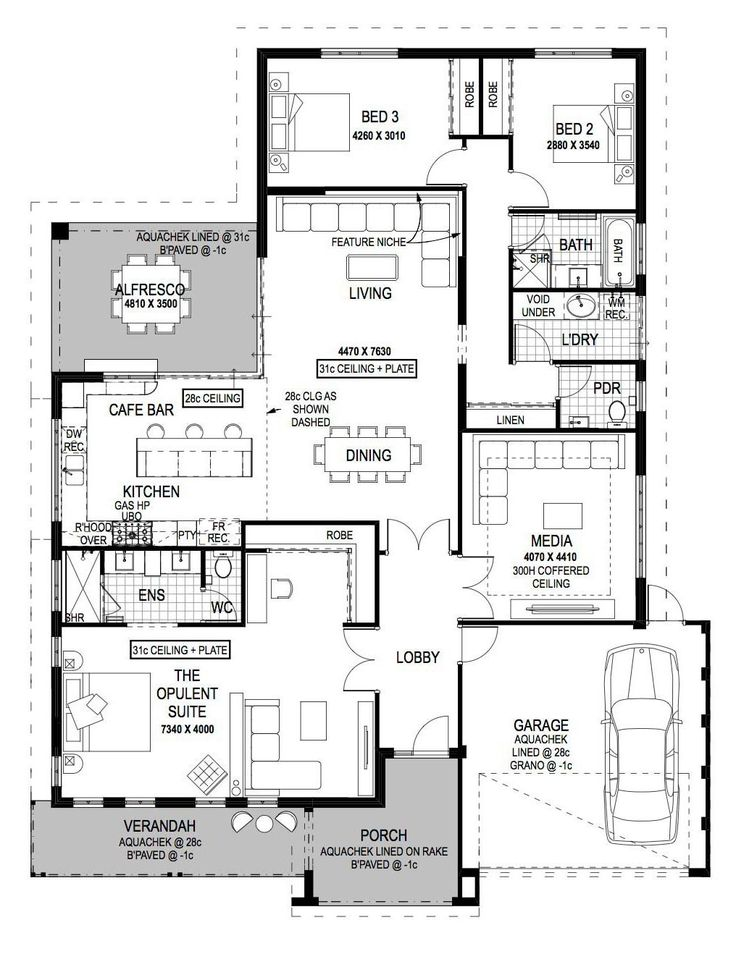 199 best Home - House Plans images on Pinterest | Dream home plans ...