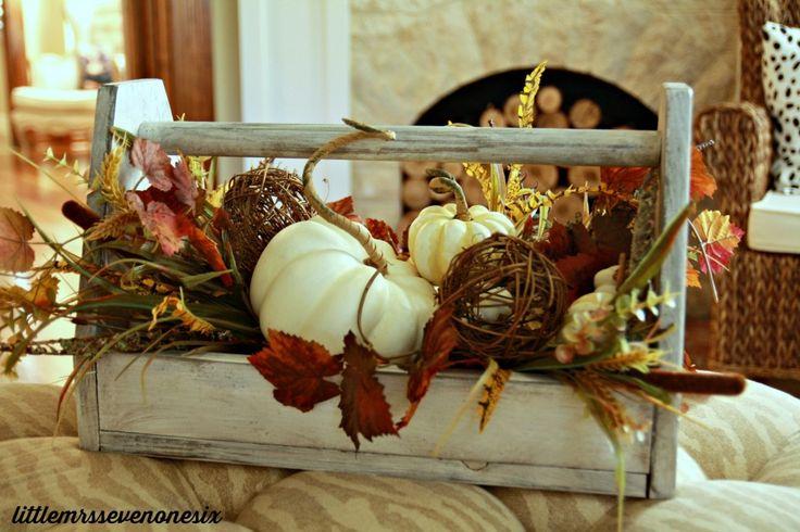 DIY fall tool box