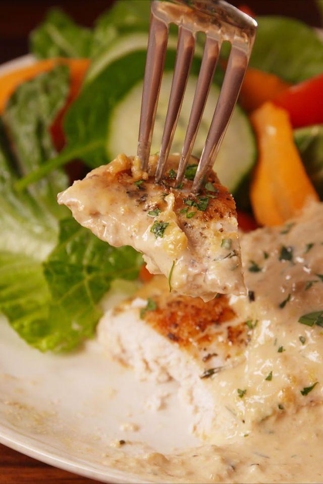 Creamy Herb Chicken Recipe Herb Chicken Recipes Cooking Recipes Herb Chicken
