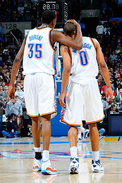 YES YES YES THAT IS TRUE LOVE KD and Westbrook..,awesome team OKC Thunder