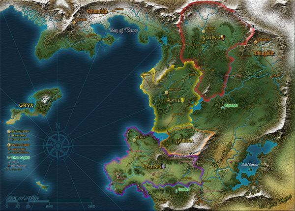 Fantasy World Map Creator   DARARTESPHB