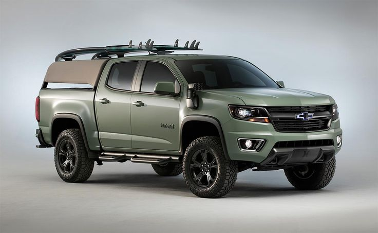 Chevrolet partners with Hurley for Colorado Z71 Concept perfect for the beach