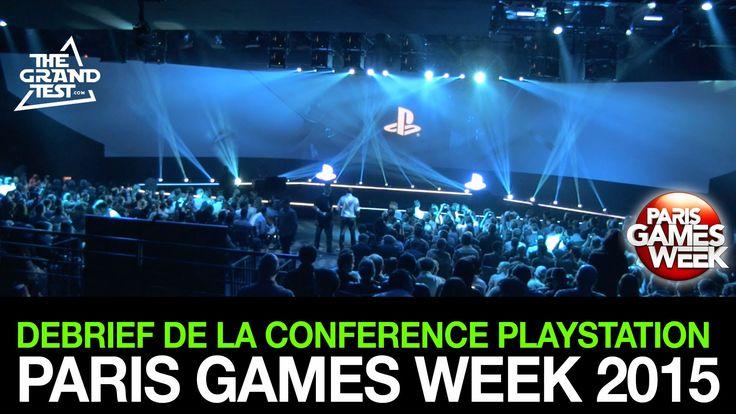 Conférence PlayStation Paris Games Week 2015