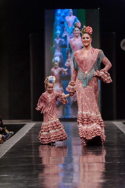 Pasarela de moda flamenca. Jerez 2016